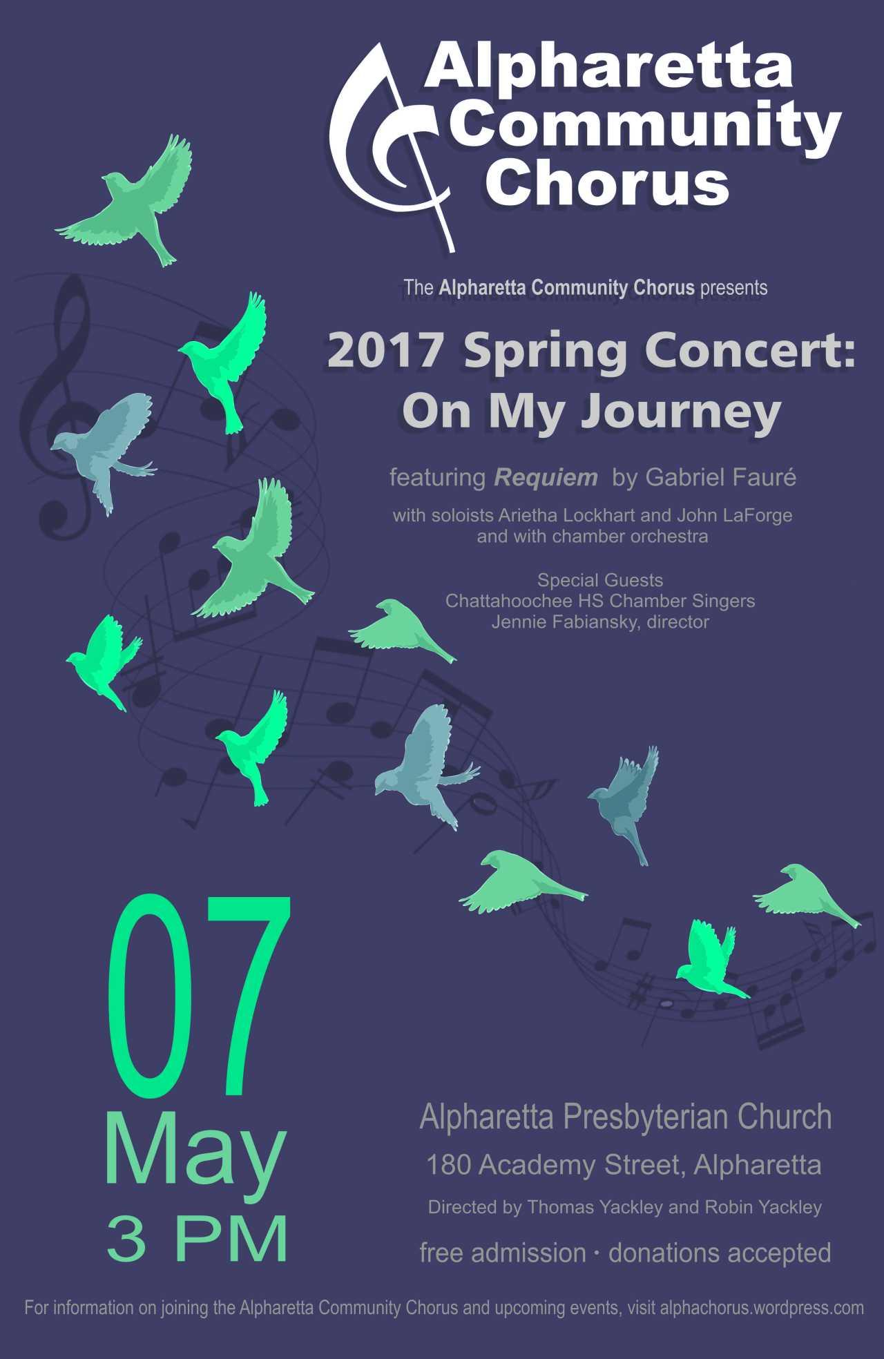 Chorus poster spring 2017